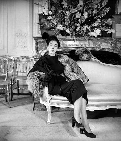 "1940s Fashion Modèle ""New Look"" de Christian Dior (1905-1957)"