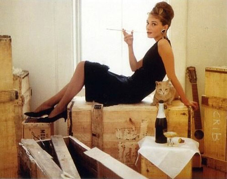 Fashion in Films 1960s Breakfast at Tiffany´s