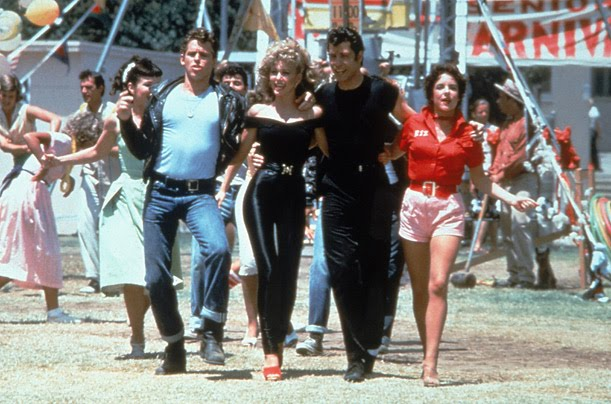 Fashion in Films 1970s Grease