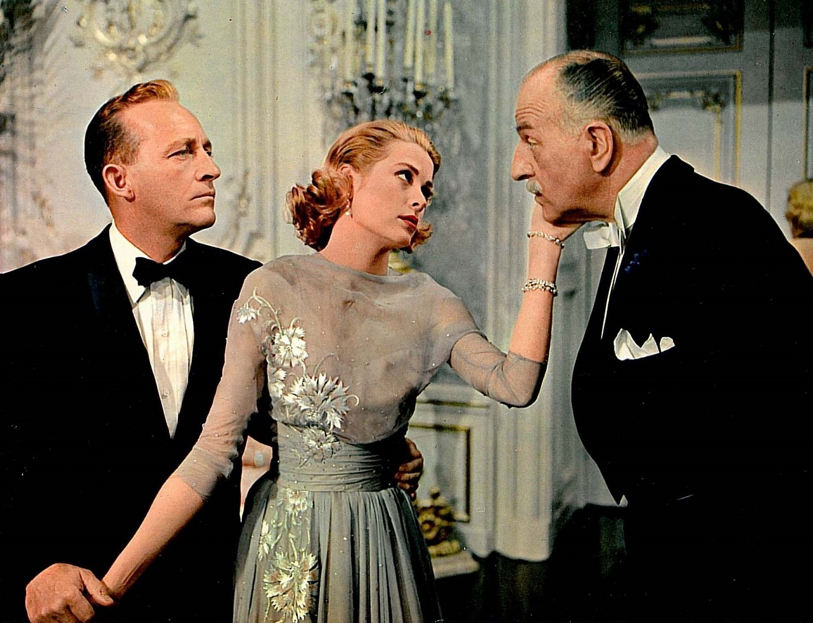 High Society 1950s film fashion