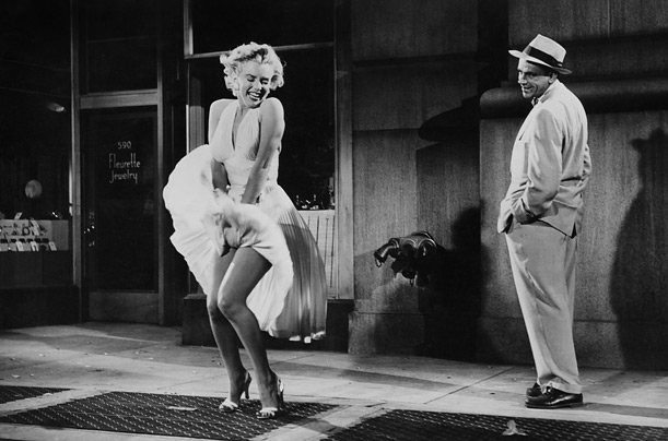 seven year itch munroe Fashion in Films 1950s