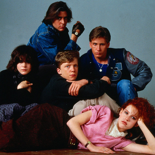 Fashion in Films 1980s The Breakfast Club
