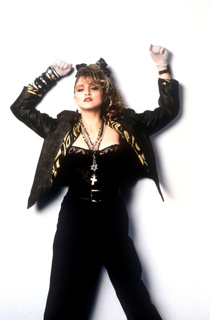 Fashion Icon Biography Madonna