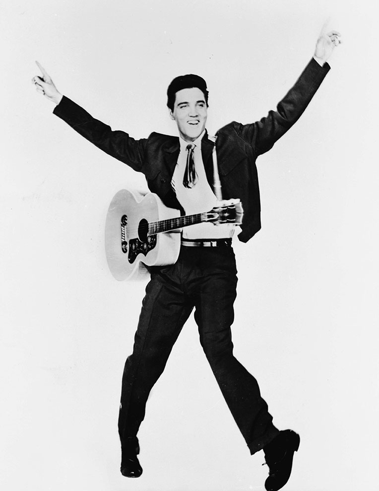 Elvis Presley In His Outfits