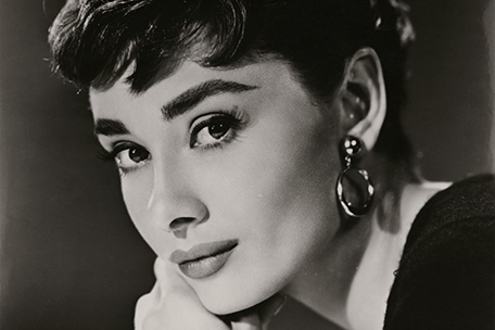 Audrey Hepburn at the National Portrait Gallery
