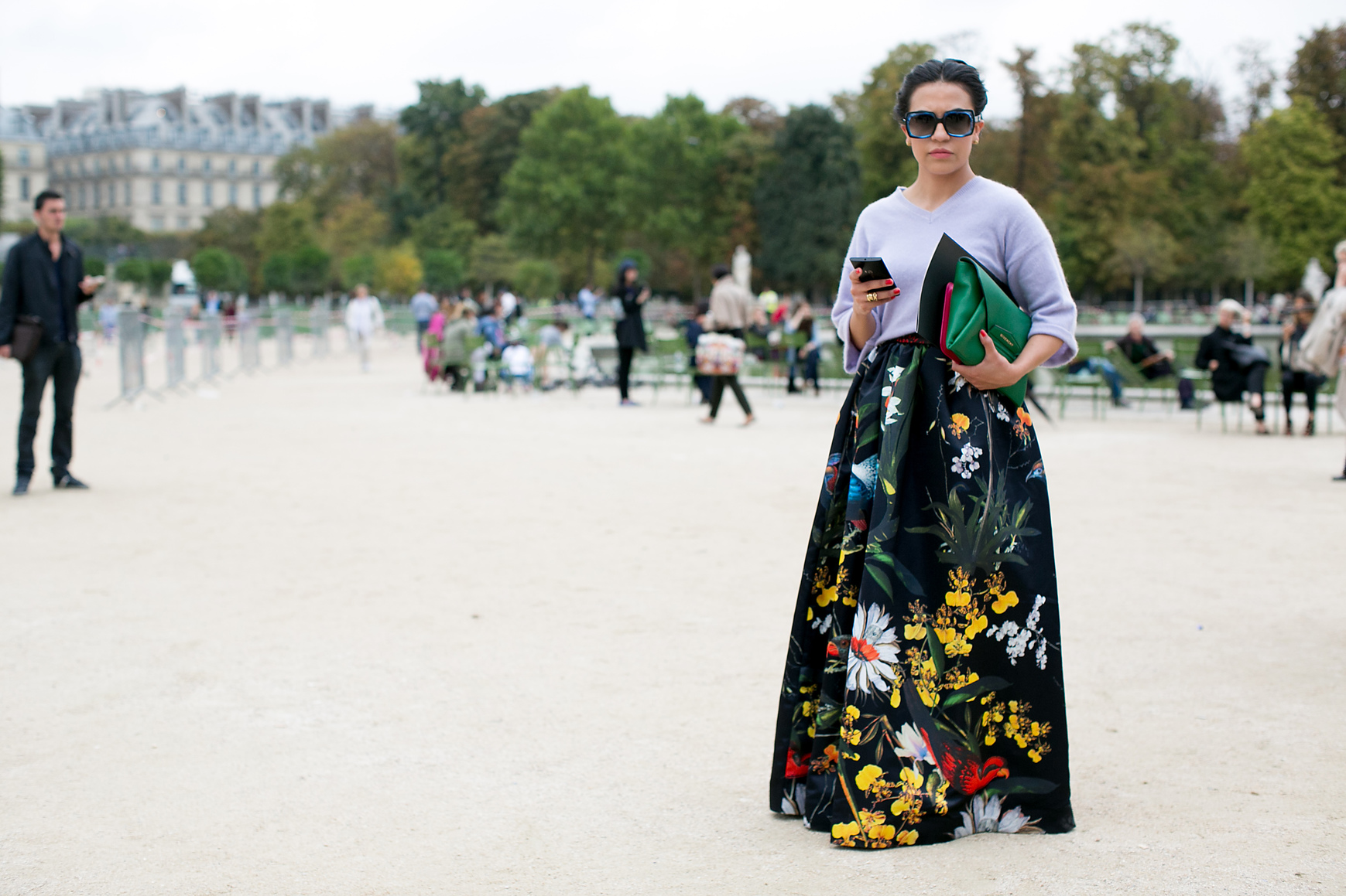 Street Fashion French Florals