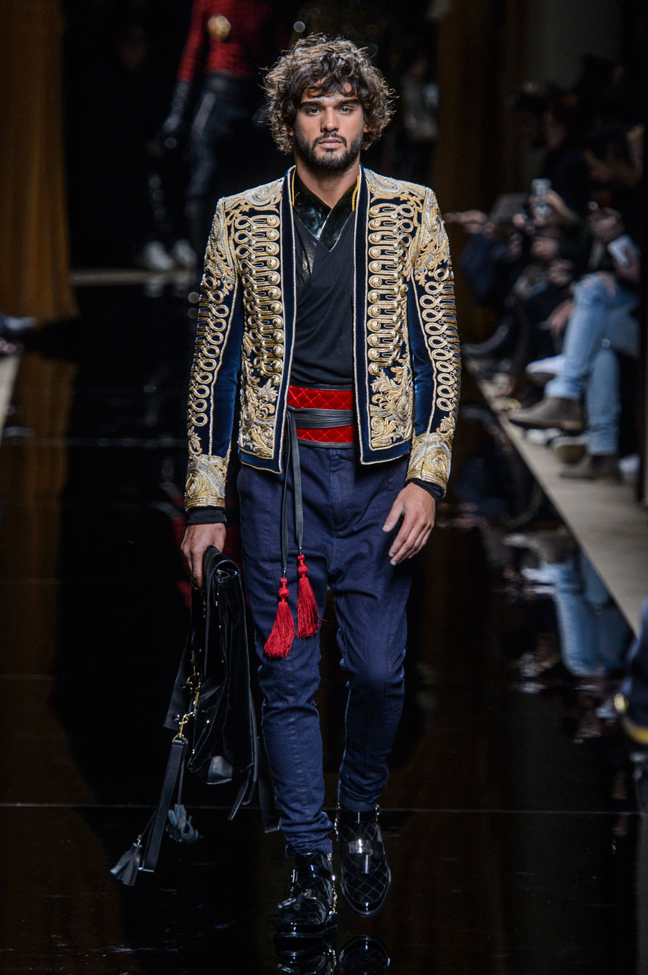 The Story. In the visionary designer Pierre Balmain founded the Parisian brand known worldwide for richly embroidered fabrics, nipped-in waists and long skirts.